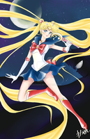 Return of Sailor Moon by Wachan