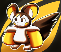 Pokeddexy 2015 - Day 20 - Favorite Electric Rodent by Inika-Xeathis