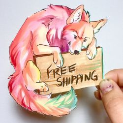 Free Shipping Wolf by Lucky978