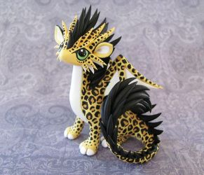Leopard-dragon by DragonsAndBeasties