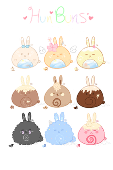 [Closed] HunBuns Batch #2- Cheap! by SquiggleCakes