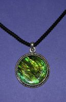 Green pendant stock by lillyfly06-stock