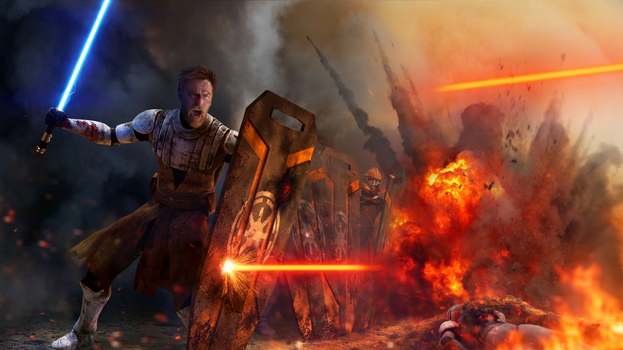 Star Wars - Peacekeeper (Obi-Wan Kenobi) by thetechromancer