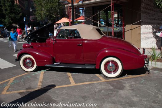 1938 Pontiac Cabriolet by chinoise56