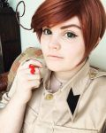 Aph Romano Cosplay by AlternianButterfly