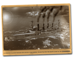 HMS Agamemnon War of the Worlds Channel Battle by yereverluvinuncleber