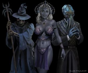 Villains of the Underdark by goatlord51
