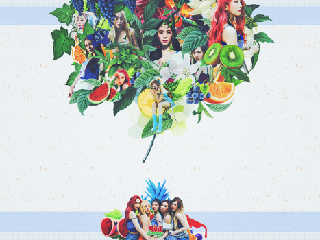 [14/07/2017] RED FLAVOR - RED VELVET!!!! by Yumi813