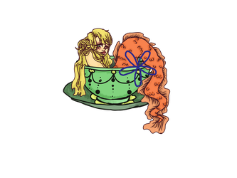 OTA Teacup Mermaid (OPEN) by DreamingOfTheWeekend