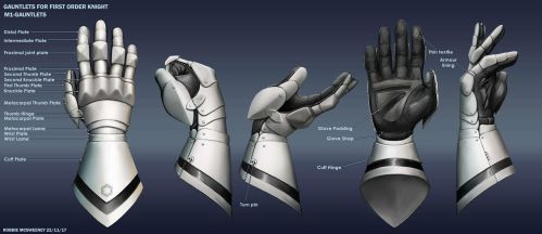 Gauntlets for first order knight by RobbieMcSweeney
