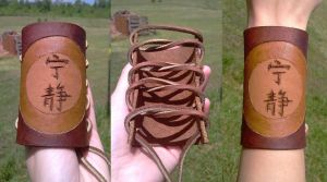 Firefly Serenity Leather Cuff by RebelATS
