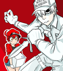 Cells At Work by Riocarp