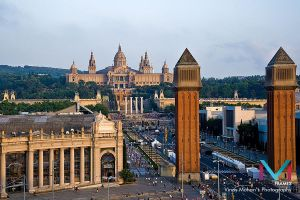 barcelona spain by vinayan