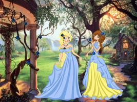 CE: Princesses in the garden by dsdsdsdddd