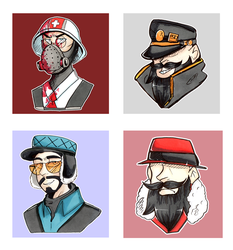TF2 Icon Batch 1 by PoneBooth