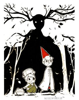 Over the Garden wall by Owlyjules
