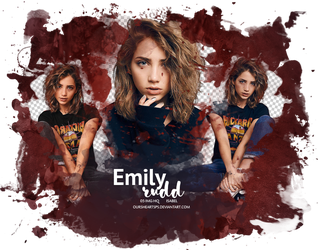 Emily Rudd | PNG Pack #9 by oursheartsps