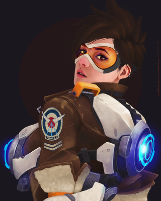 Overwatch: Tracer by ruthiebutt