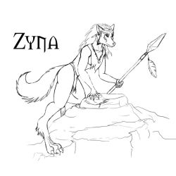 Zyna by Xepharon