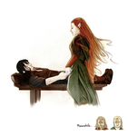 Kili and Tauriel by Kc-Eazyworld