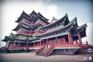 Jinghai Temple by mers01