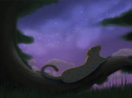 The World is Quiet Here by Paint-Puff