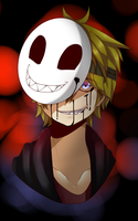Crooked Smile. (creepypasta oc) by The-Tomboy-Artist