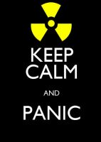 Keep Calm and Panic by Lukan-the-Oracle