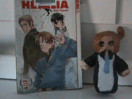 italy with hetalia book by TamakiSenpai-ismine
