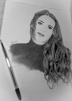 maybe.. ballpen drawing :3 by bloojesd