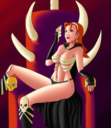 The Skull Queen by QuesoGr7