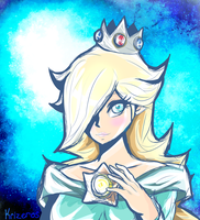Rosalina the Space Princess by krizeros