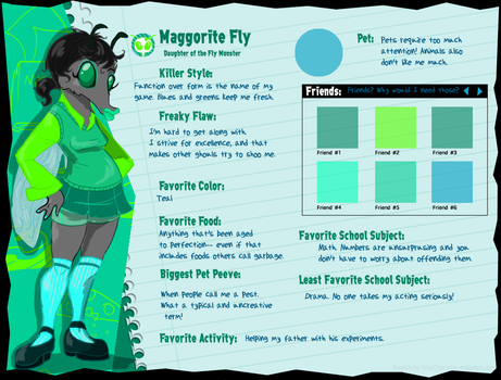 MH: Maggorite Profile by babyrainbou