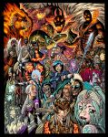 New EXALTED cover colors by AdamWarren