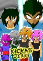 Kickass Jerks - Power Battle Arc - Key Visual by KuraiJinx