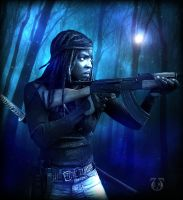 Michonne815 by YelleHghes