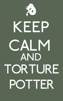 Slytherin, Keep Calm by smashingdaisies