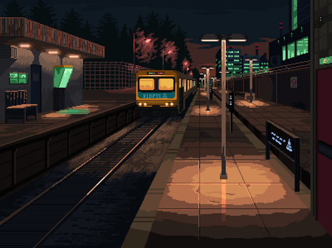 Train station by 5ldo0on