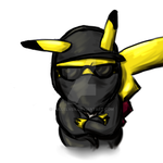 Hollywood Undead Pikachu by FullElven