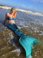 My Sequined Mermaid Tail by SwimmerGirl96