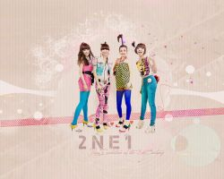 2NE1 Wallpaper by kairomon