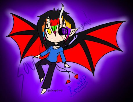 -CLOSED!!!- Male Demon/Dragon Adopt! by OrangeSoulDarcy