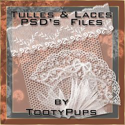 Tulles and Laces by TootyPups