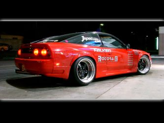 240sx S13 - Red by ImportKING