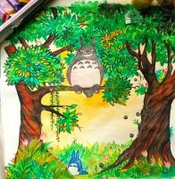Totoro's forest. by pisoulo