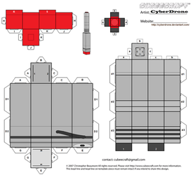 Cubee - The War Doctor's Sonic Screwdriver by CyberDrone
