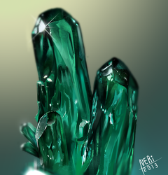 Mineral study 003 by Neri-O