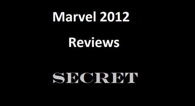 Marvel 2012 Reviews by RoninReviews3