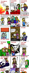 Zelda throughout the ages *updated* by Luke-the-F0x