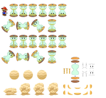Oucher Glass (Paper Mario Style) by DerekminyA